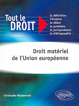 Droit matériel de l'Union européenne