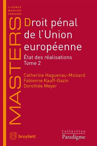 Droit pénal de l'Union Européenne