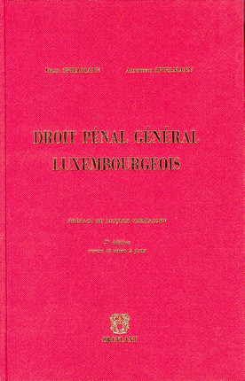 Droit pénal général luxembourgeois