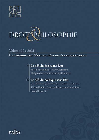 Droit & philosophie : annuaire de l'Institut Michel Villey 2021