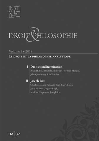 Droit & philosophie : annuaire de l'Institut Michel Villey