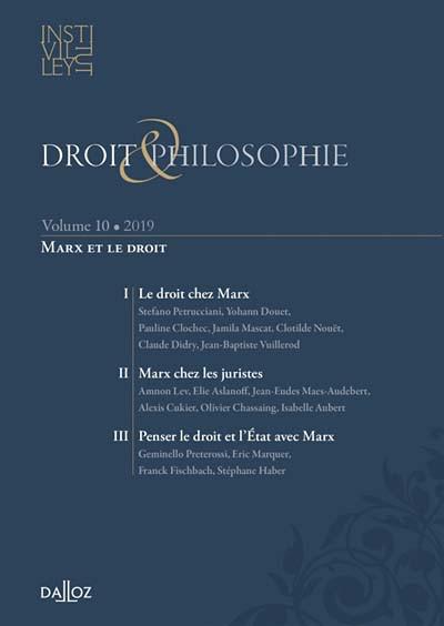 Droit & philosophie : annuaire de l'Institut Michel Villey 2019
