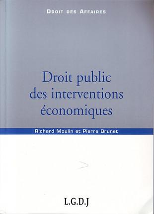 Droit public des interventions économiques