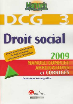 Droit social - DCG 3