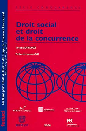 Droit social et droit de la concurrence