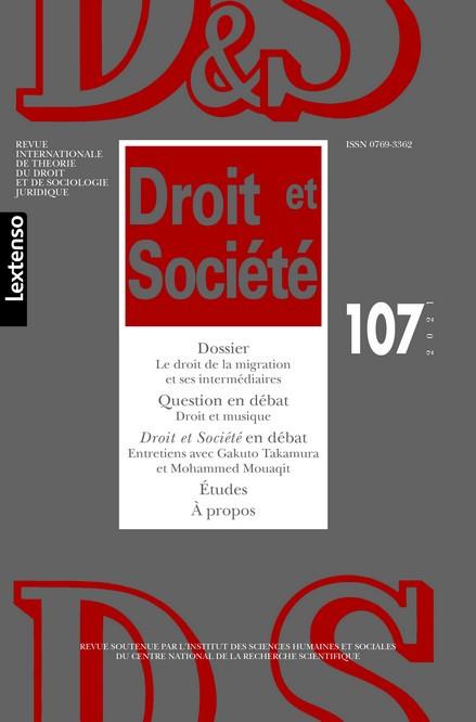 Droit & Société N°107-2021