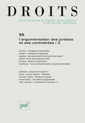 Droits, 2012 N°55