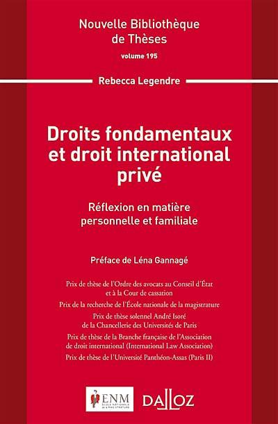 Droits fondamentaux et droit international privé