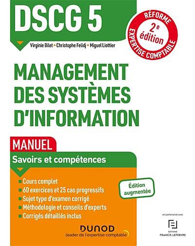 DSCG 5 management des systèmes d'information : manuel 2021-2022