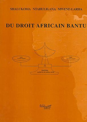 Du droit africain bantu