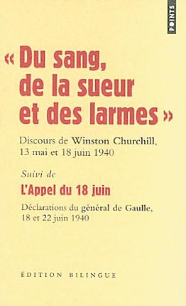 """""""Du sang, de la sueur et des larmes"""" : discours de Winston Churchill, 13 mai et 18 juin 1940 N°2243"""