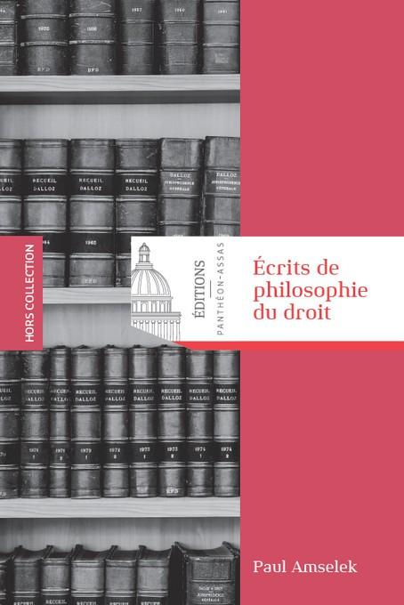 Écrits de philosophie du droit