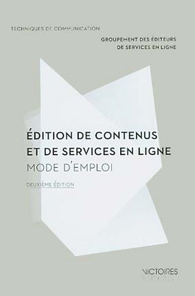 Edition de contenus et de services en ligne
