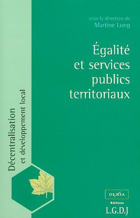 Egalité et services publics territoriaux