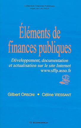 Eléments de finances publiques