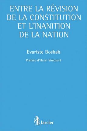 Entre la Révision de la Constitution et l'inanition de la Nation