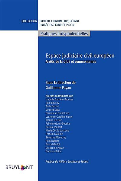 Espace judiciaire civil européen