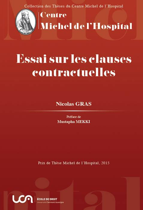 Essai sur les clauses contractuelles