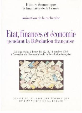 État, finances et économie pendant la Révolution française