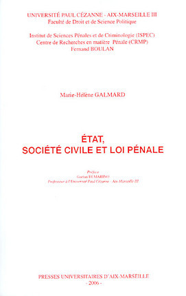 Etat, société civile et loi pénale