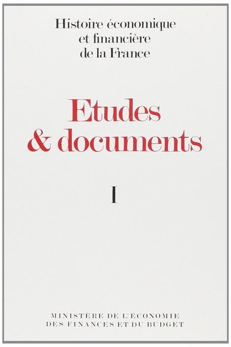 Études et documents - 1989