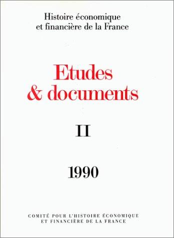 Études et documents - 1990