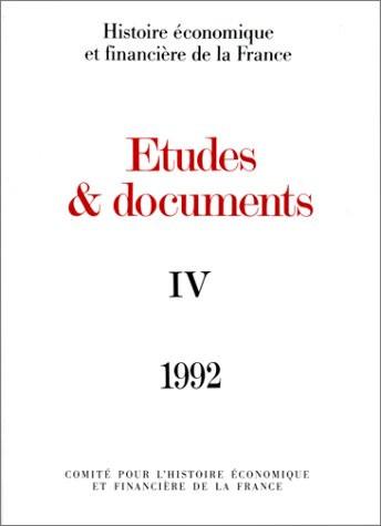 Études et documents - 1992