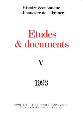 Études et documents - 1993