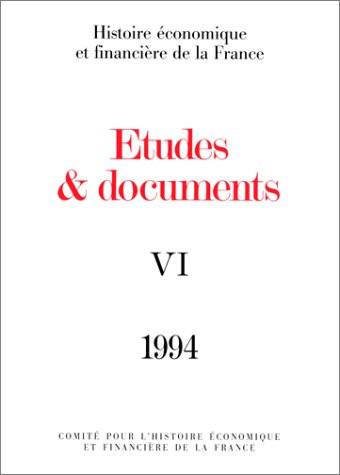 Études et documents - 1994