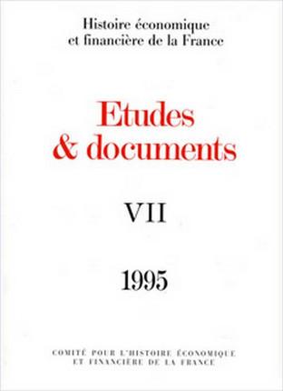 Études et documents - 1995
