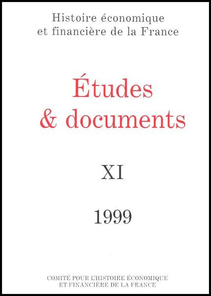 Études et documents - 1999