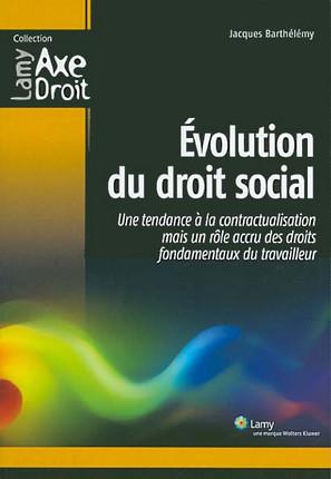 Evolution du droit social