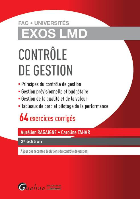 Exos LMD - Contrôle de gestion