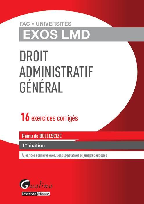 Exos LMD - Droit administratif général