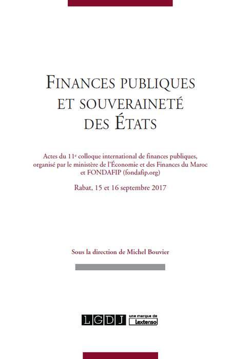 Finances publiques et souveraineté des États