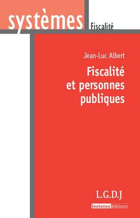 Fiscalité et personnes publiques
