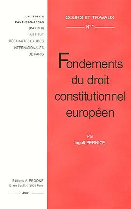 Fondements du droit constitutionnel européen