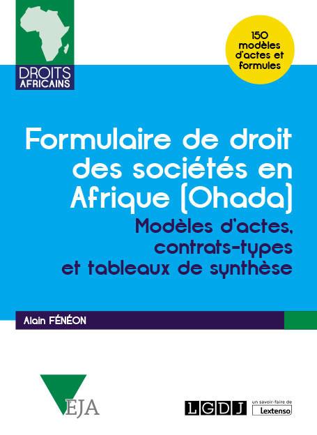 Formulaire de droit des sociétés en Afrique (Ohada)