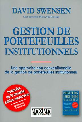 Gestion de portefeuilles institutionnels