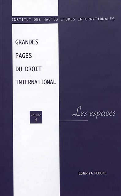 Grandes pages du droit international