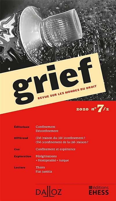 Grief, 2020 N°7/2