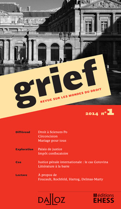 Grief, 2014 N°1