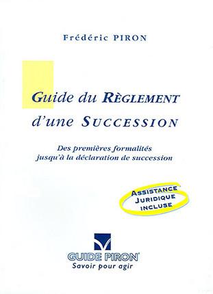 Guide du règlement d'une succession