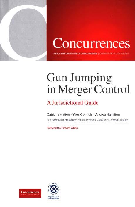 Gun Jumping in Merger Control