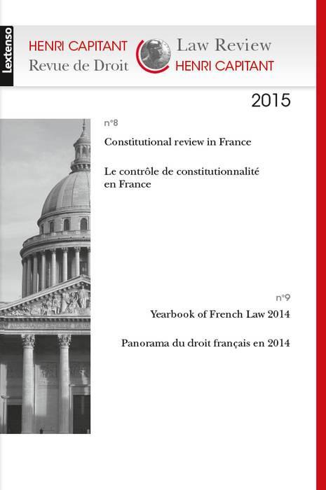 Henri Capitant - Revue de droit N°8/9-2015