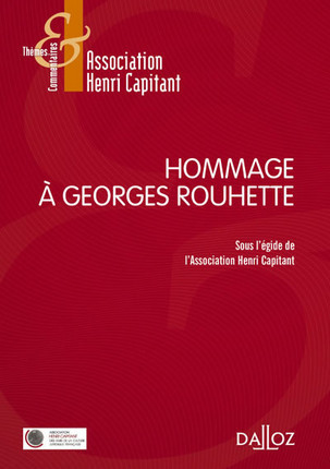Hommage à Georges Rouhette