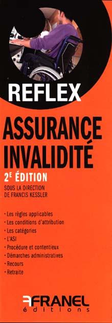 ID Reflex Assurance, invalidité (dépliant recto-verso)