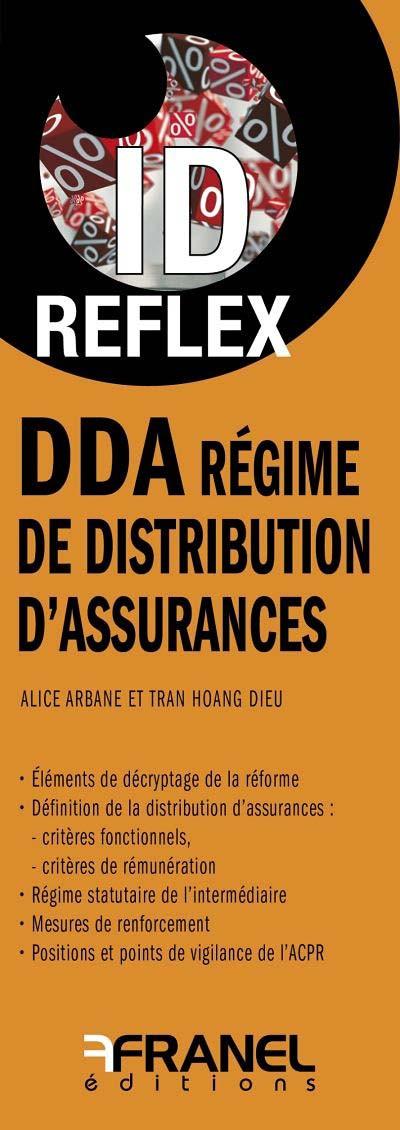 ID reflex DDA : régime de distribution d'assurances (dépliant recto-verso)