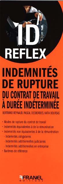 ID reflex Idemnités de rupture (dépliant recto-verso)