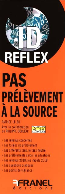 ID Reflex PAS Prélèvement à la source (dépliant recto-verso)